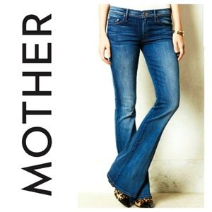 MOTHER The Cruiser Tempted Again Flare Jeans Denim